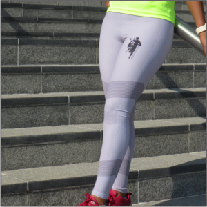 High Rise Running Tights – Female