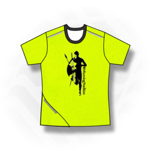 Male/Female Short Sleeve T-Shirt  – Mini Birdseye Fabric with Reflectives