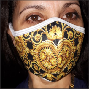 Printed Mask – L. Bling
