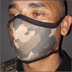 Printed Mask – Camo