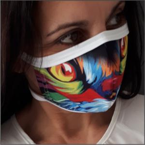 Printed Mask – L. CAT