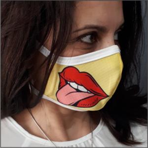 Printed Mask – L. KISS