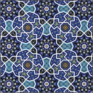 3 Layer Buffs Moroccan Blue