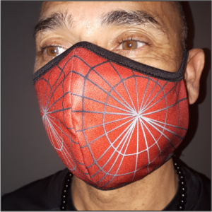 Printed Mask – 1. Spider