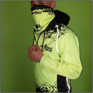 Run Walk For Life Rain Jacket – Unisex Style