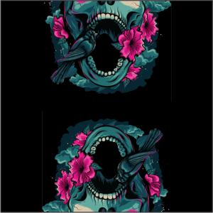 3 Layer Buffs Black Skull