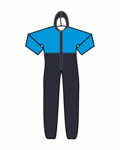 Medical Jumpsuits Two Tone