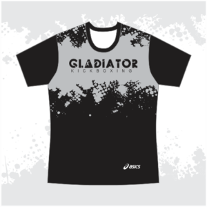 Gladiator T-Shirt Grey & Black
