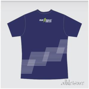 Athleisure Club T-Shirt Navy