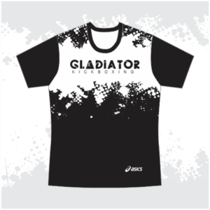 Gladiator T-Shirt Black & White