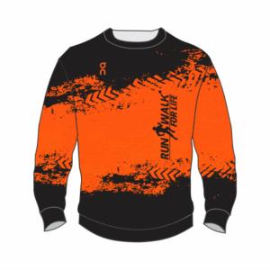 Fleece Pull Over – Orange